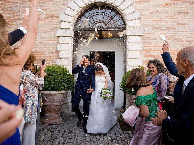 Il matrimonio di Edoardo e Maria Giulia a Fermo, Fermo 21