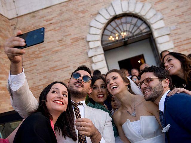Il matrimonio di Edoardo e Maria Giulia a Fermo, Fermo 22