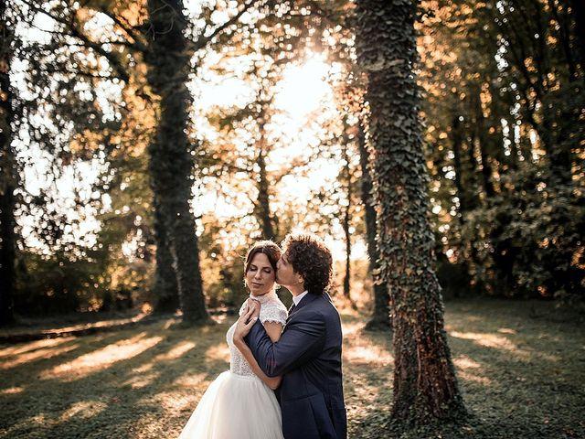 Le nozze di Giorgia e Vasco