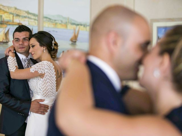 Il matrimonio di Mariagiovanna e Antonello a Vico Equense, Napoli 44