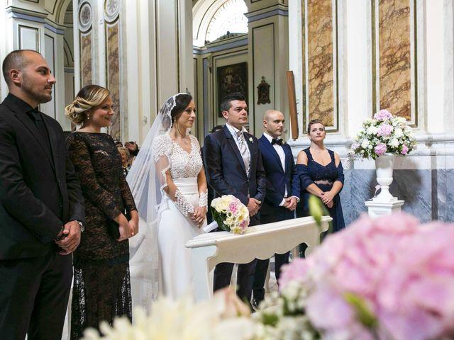 Il matrimonio di Mariagiovanna e Antonello a Vico Equense, Napoli 53