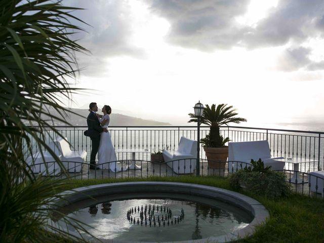 Il matrimonio di Mariagiovanna e Antonello a Vico Equense, Napoli 71