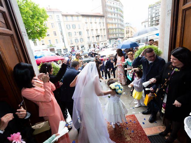 Il matrimonio di Massimo e Mariella a Milano, Milano 39