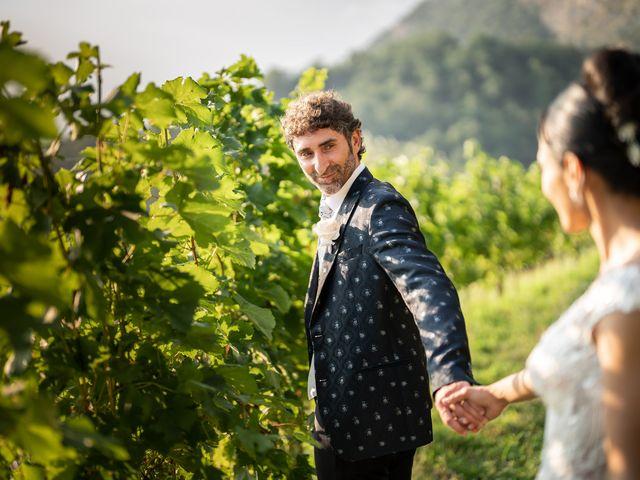 Il matrimonio di Maurizio e Beatriz a Calolziocorte, Lecco 48
