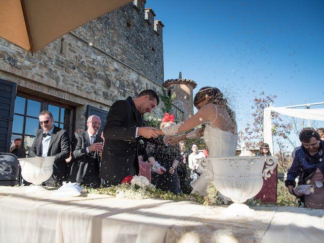 Il matrimonio di Andrea e Valeria a Gropparello, Piacenza 19