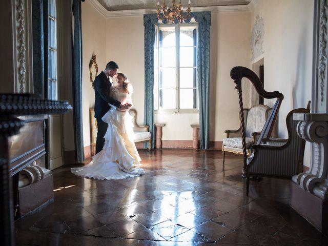 Il matrimonio di Andrea e Valeria a Gropparello, Piacenza 23