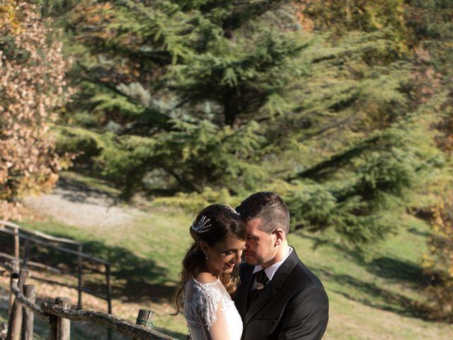 Il matrimonio di Andrea e Valeria a Gropparello, Piacenza 27