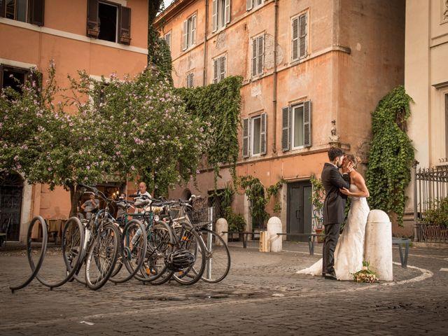 Il matrimonio di Matteo e Annika a Roma, Roma 34