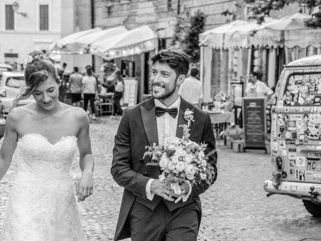 Il matrimonio di Matteo e Annika a Roma, Roma 37