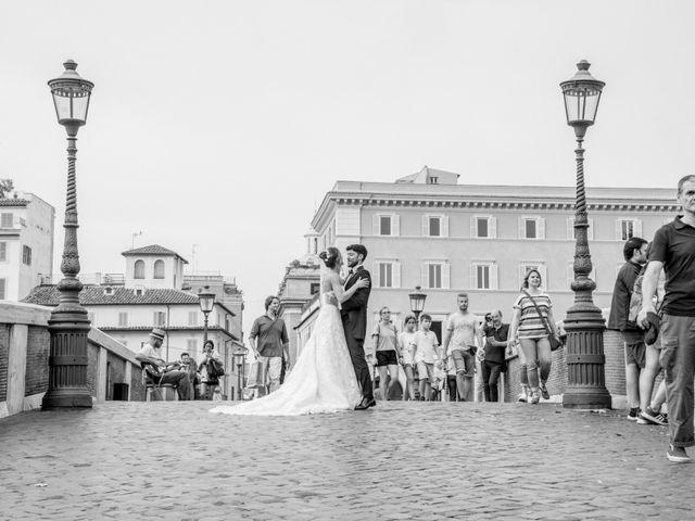 Il matrimonio di Matteo e Annika a Roma, Roma 39