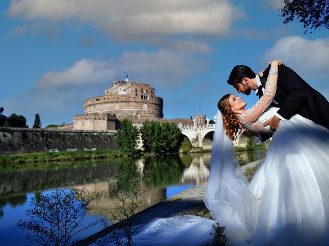 Il matrimonio di Enrico e Simona a Roma, Roma 1