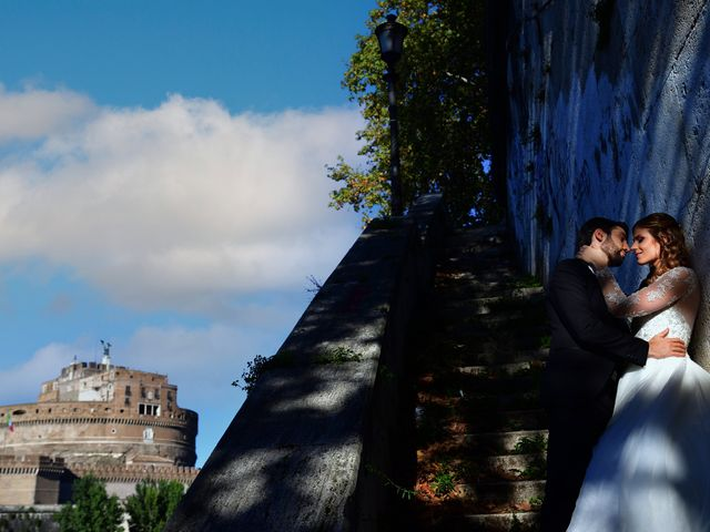 Il matrimonio di Enrico e Simona a Roma, Roma 2