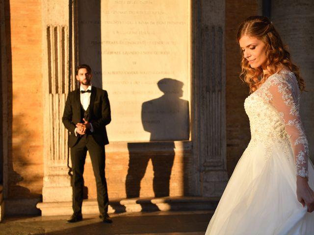 Il matrimonio di Enrico e Simona a Roma, Roma 10