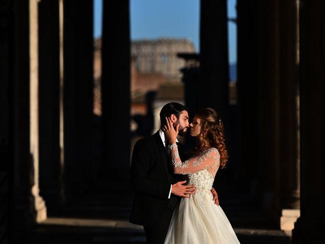 Il matrimonio di Enrico e Simona a Roma, Roma 84