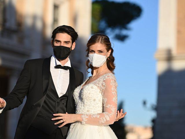 Il matrimonio di Enrico e Simona a Roma, Roma 86