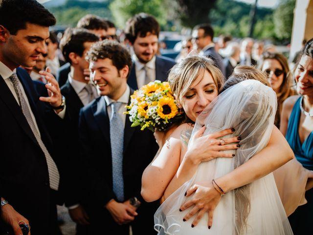 Il matrimonio di Claudio e Cecilia a Palombara Sabina, Roma 34