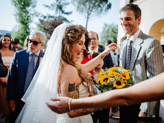 Il matrimonio di Claudio e Cecilia a Palombara Sabina, Roma 33