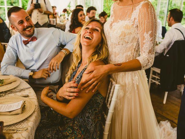 Il matrimonio di Andrea e Sara a Montevecchia, Lecco 91
