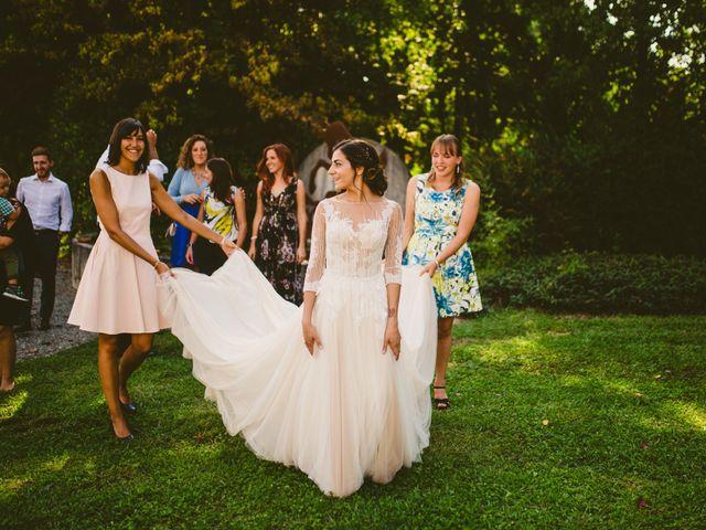 Il matrimonio di Andrea e Sara a Montevecchia, Lecco 99