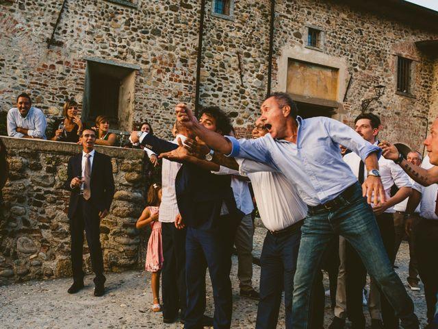 Il matrimonio di Andrea e Sara a Montevecchia, Lecco 107
