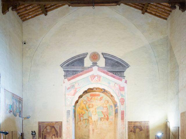 Il matrimonio di James e Carla a Certaldo, Firenze 33