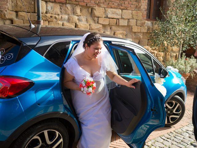 Il matrimonio di James e Carla a Certaldo, Firenze 41