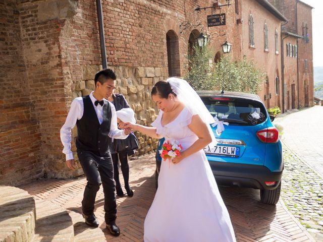 Il matrimonio di James e Carla a Certaldo, Firenze 42