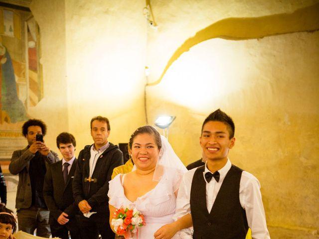 Il matrimonio di James e Carla a Certaldo, Firenze 44