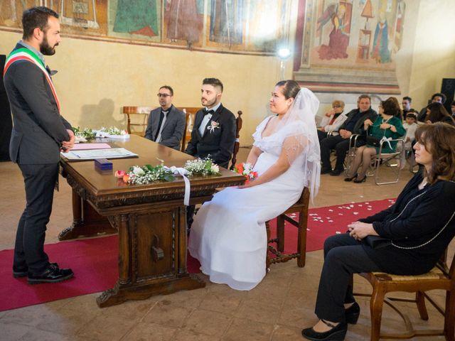 Il matrimonio di James e Carla a Certaldo, Firenze 45