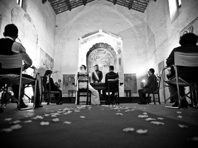 Il matrimonio di James e Carla a Certaldo, Firenze 48