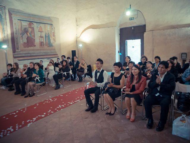 Il matrimonio di James e Carla a Certaldo, Firenze 59