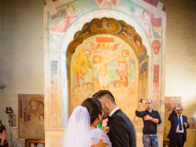 Il matrimonio di James e Carla a Certaldo, Firenze 60