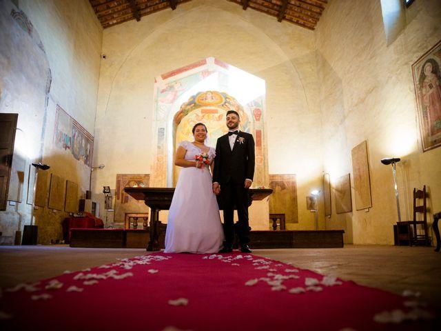 Il matrimonio di James e Carla a Certaldo, Firenze 63