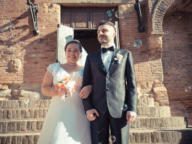 Il matrimonio di James e Carla a Certaldo, Firenze 64