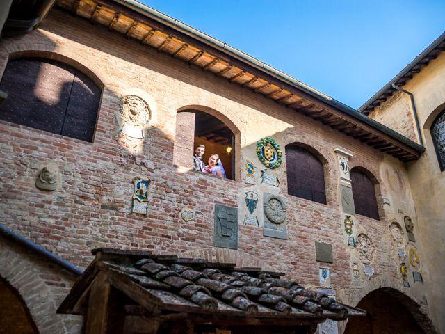Il matrimonio di James e Carla a Certaldo, Firenze 67