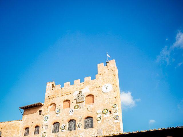 Il matrimonio di James e Carla a Certaldo, Firenze 70