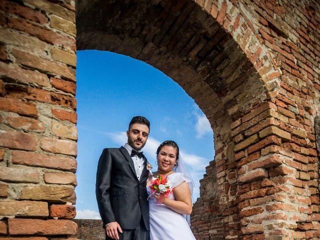 Il matrimonio di James e Carla a Certaldo, Firenze 71