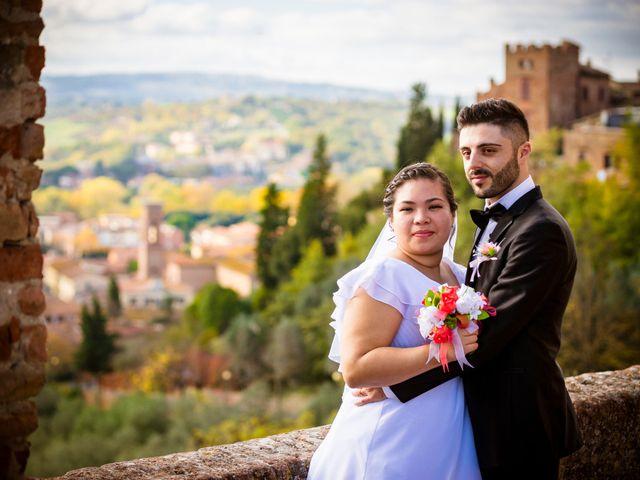 Il matrimonio di James e Carla a Certaldo, Firenze 72