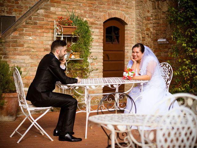 Il matrimonio di James e Carla a Certaldo, Firenze 74