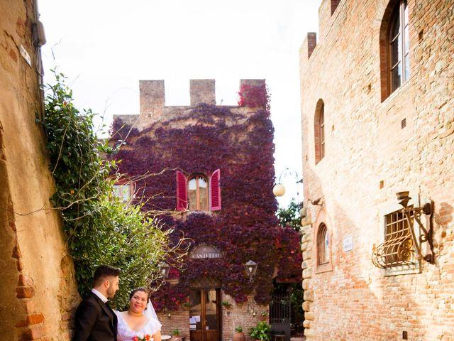 Il matrimonio di James e Carla a Certaldo, Firenze 75