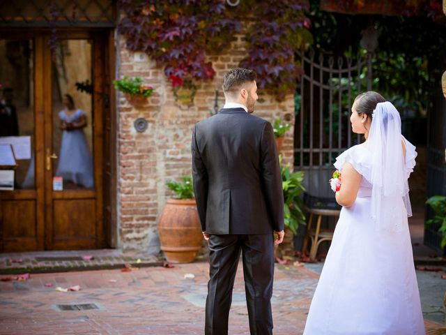 Il matrimonio di James e Carla a Certaldo, Firenze 76