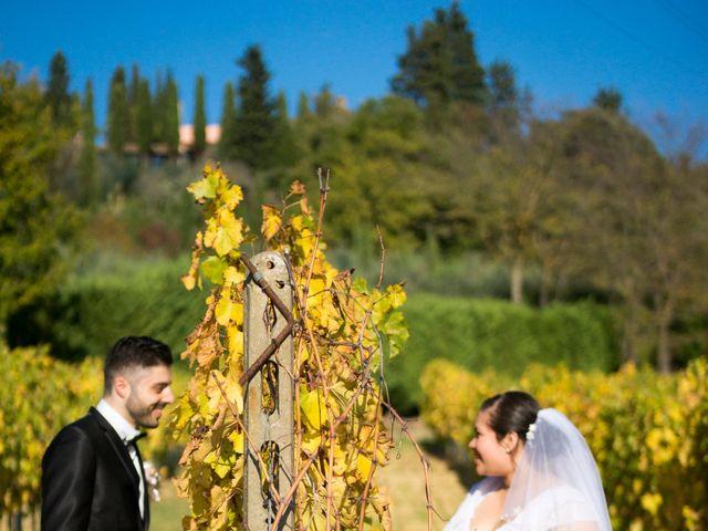 Il matrimonio di James e Carla a Certaldo, Firenze 78