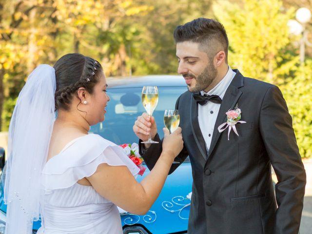 Il matrimonio di James e Carla a Certaldo, Firenze 80