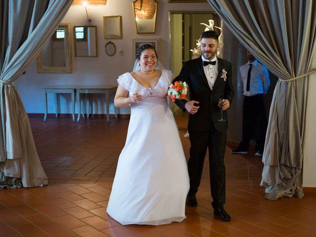 Il matrimonio di James e Carla a Certaldo, Firenze 82