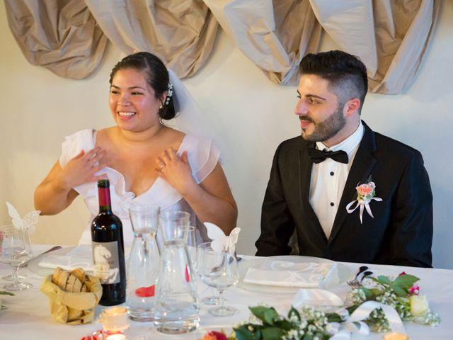 Il matrimonio di James e Carla a Certaldo, Firenze 83