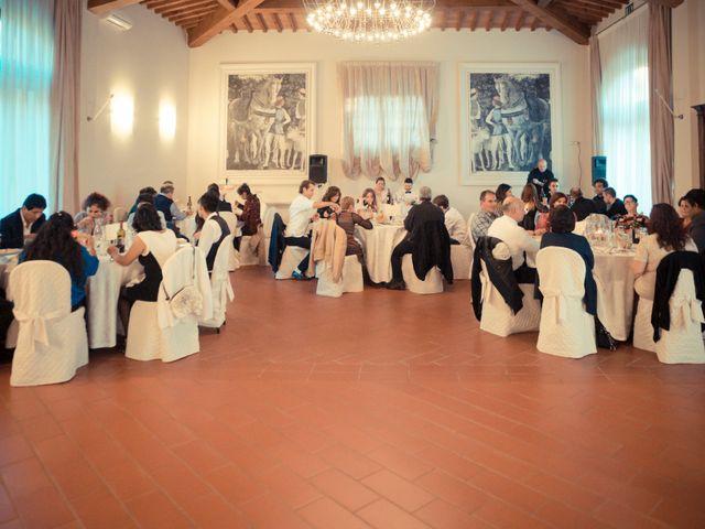 Il matrimonio di James e Carla a Certaldo, Firenze 85