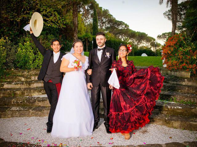 Il matrimonio di James e Carla a Certaldo, Firenze 87