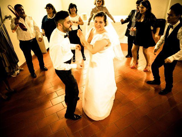 Il matrimonio di James e Carla a Certaldo, Firenze 90