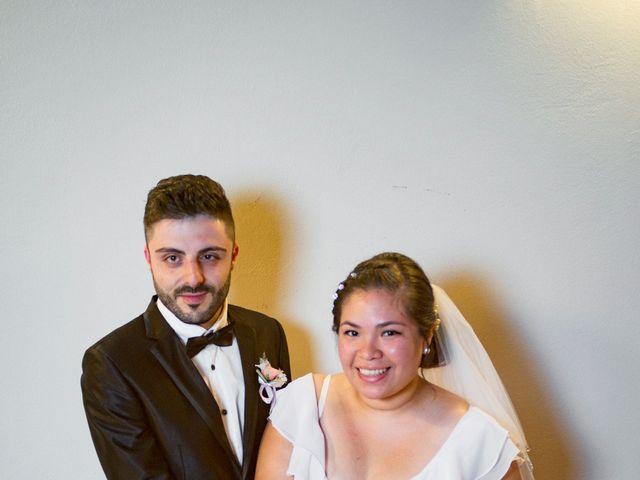Il matrimonio di James e Carla a Certaldo, Firenze 95