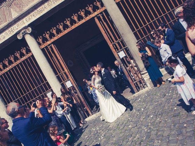 Il matrimonio di Alfredo e Eliana a Roma, Roma 25